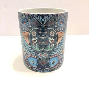 Blue Koi Fish Coffee Mug